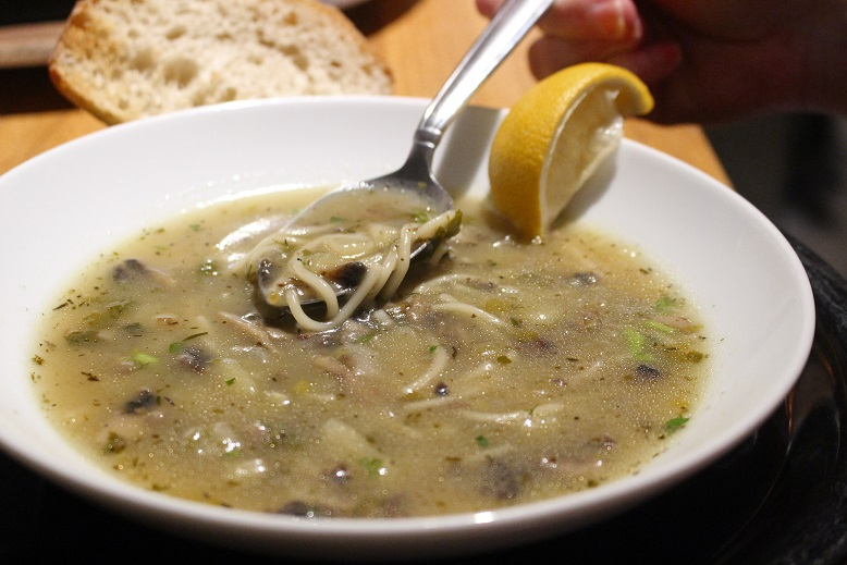 Light Mushroom Soup