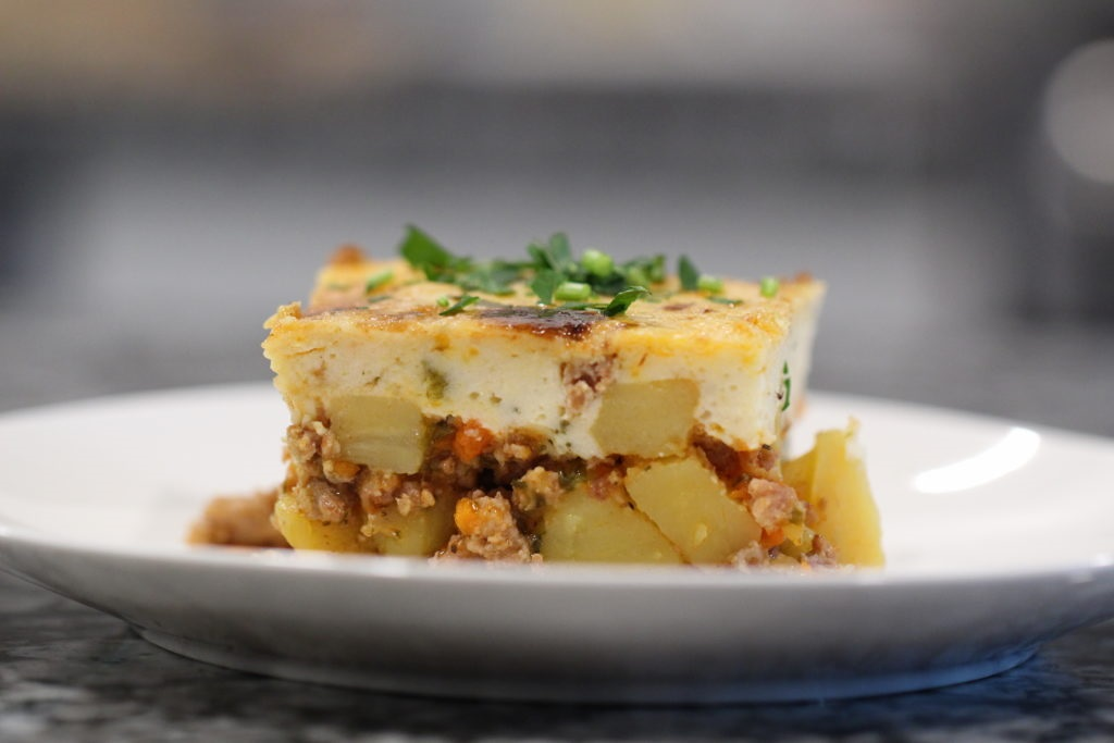 Moussaka Recipe with Potatoes and Ground Meat